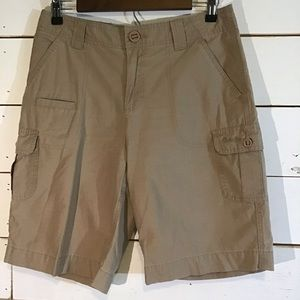 CABELAS 7 Pockets Hiker Shorts Cargo Khaki 6